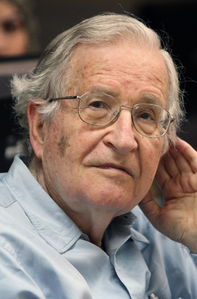 Noam Chomsky Featured