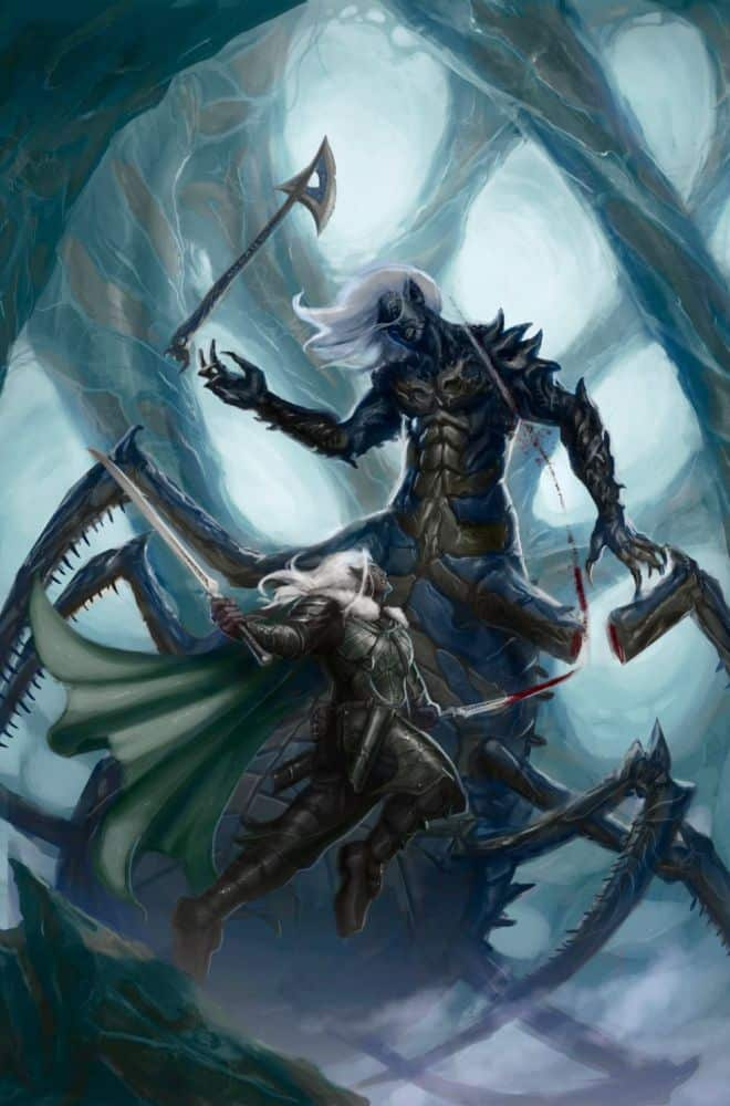 War of the Spider Queen Book Series Review